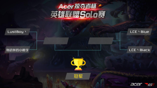 Acer掠夺者杯总决赛 英雄联盟solo赛冠军将花落谁家